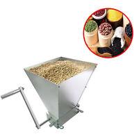 Grain Processor Grain Crusher Stainless Rollers Homebrew Malt Mill Grain UK