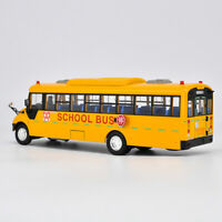 DieCast Toy Model Gift 1:42 Yutong ZK6109DX American School Transit Bus Vehicle