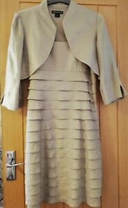 Wedding Outfit Dress And Jacket Size 14 Party Occasion Jessica Howard