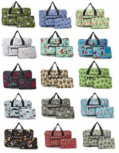 Eco Chic Cabin Approved 30 litre Foldable Holdall ~ Llama, Bees, Sheep, Cats etc