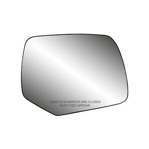 Right Door Mirror Glass Includes Backing Plate w/o Heated Glass 8L8Z17K707A