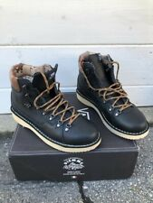 Vans Italy Vault Diemme Montebelluna Hiker LX Black Buffalo Boot Size 9