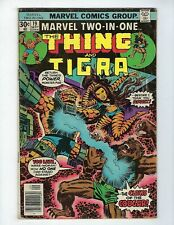 MARVEL TWO IN ONE # 19 (THING & TIGRA, Cents, SEPT 1976), VG