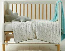 Jiggle & Giggle Cot Comforter Printed Jersey Grey Star