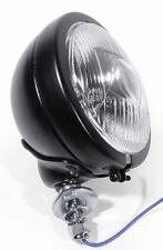 4,5 Zoll Zusatzscheinwerfer schwarz Riffelglas