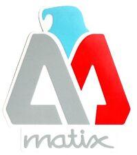 Matix Clothing Skateboard Sticker skate snow surf board bmx grey blue red