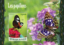 Niger 2016 MNH Butterflies 1v S/S Papillons Insects Butterfly Stamps