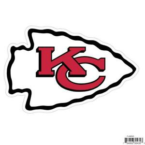 Kansas City Chiefs Licensed Outdoor Rated Logo Magnet (NFL Football)