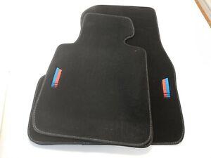 %SALE% Fußmatten 1er BMW F20 Velours Matten Innen Automatten M1 Design NEU 4x