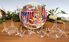 """~3 Premium 5"""" Display Stands Easel Coins In PCGS NGC Capsule Gold Silver Ingot"""