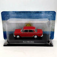 IXO Altaya 1:43 Fiat 1500 1963 Diecast Models Limited Edition Collection Red
