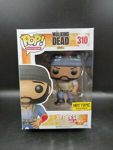 Funko Pop The Walking Dead Tyreese #310 Bloody Hot Topic Exclusive