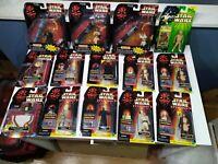 Lot of 13+1 Hasbro Star Wars Episode 1 Action Figure lot NIB- Sealed Worth $140+