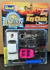 REVELL 63 1963 CHEVY IMPALA LOWRIDER CAR MODEL KIT KEY CHAIN RARE CHEVROLET