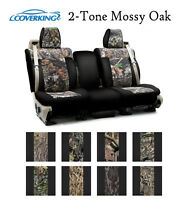 Coverking Custom Seat Covers Neosupreme Front Row - 2-Tone Mossy Oak Camo