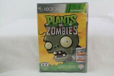 Xbox 360 Plants vs Zombies Platinum Hits Complete CIB Brand New Factory Sealed