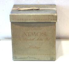 JAEGER LE COULTRE VINTAGE ORIGINAL ATMOS MANTLE CLOCK LARGE BOX !!!