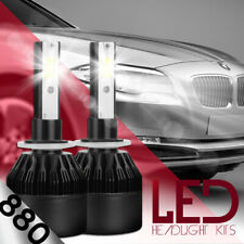 XENTEC LED HID Foglight Conversion kit 881 6000K for Hyundai Accent 2000-2016