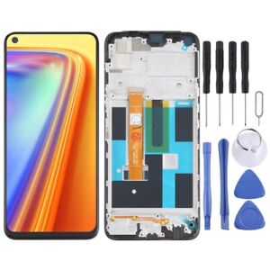 For OPPO Realme 7 4G ASIA LCD Display Screen Frame Digitizer Touch Assembly