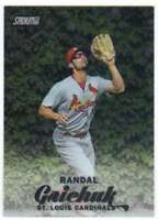 2017 Topps Stadium Club Chrome #SCC-75 Randal Grichuk Cardinals