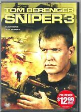 TOM  BERINGER  * Sniper 3 *  (DVD, 2004)