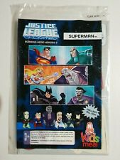 Justice League Unlimited Bobbing Head Heroes (2009) Sealed, Arby's, Superman