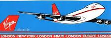 Virgin Atlantic Collectable Airline Stickers
