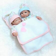 """11"""" Lifelike Baby Mini Full Silicone Reborn Bath Baby Doll Xmas Gift Girl Or Boy"""