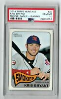 2014 Topps Heritage Minors #30 ***KRIS BRYANT***  PSA 10 - CHICAGO CUBS