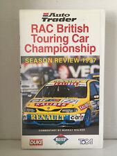 1997 RAC BRITISH TOURING CAR CHAMPIONSHIP ~ RARE PAL VHS VIDEO ~ AS NEW
