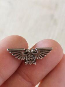 Warhammer 40K badge Games Workshop 25th Anniversary Eagle Rare pewter pin