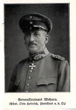 Generalleutnant Wichura *  WW1