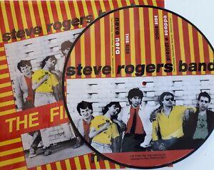 "STEVE ROGERS BAND (VASCO ROSSI) - NEVE NERA - MAXI SINGLE 12"" PICTURE DISC  NUM."