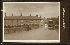 Bridgefoot near Workington. Horse & Cart.