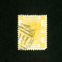 Hong Kong Stamps # 16 F-VF Used Scott Value $62.50