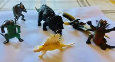 Vintage 1972 Pteranodon Dinosaur Plus Other Vintage Creatures Made In Hong Kong