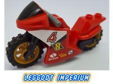 LEGO MotorBike - Red Racing Motorcycle - City FREE POST