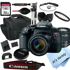 Canon EOS Rebel T7i DSLR Camera with 18-55mm f/3.5-5.6 STM Lens +18PC Bundle