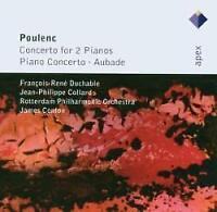 François-René Duchable, Jean-P - Poulenc: Concertos For Two Pianos, Pia (NEW CD)
