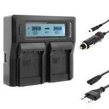 Akku Dual Ladegerät Charger für Panasonic DMW-BCF10E DMW-BCG10E DMW-BCJ13E 90320