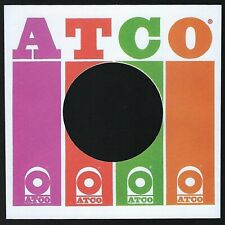 ATCO RECORDS (4 colour) - REPRODUCTION RECORD COMPANY SLEEVES - (pack of 10)