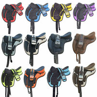 All Purpose Treeless Freemax Synthetic English Horse saddle With Girth Free Gift