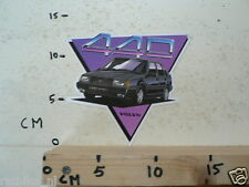 STICKER,DECAL VOLVO 440 TURBO CAR AUTO NOT 100 % OK IS DAMAGED