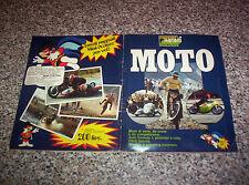 ALBUM figurine MOTO EDIRAF SUPER RAF 197? COMPLETO MOLTO BELLO NO PANINI EDIS