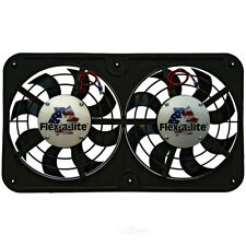 Fan Electric 12 1/8^ Dual Shrouded Puller Lo-Profile S-Blade w/Var Speed fits 20