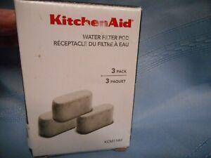 KITCHEN AID WATER FILTER POD COFFEE MAKER KCM11WF 3 PACK NIB