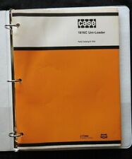 CASE 1816C UNI-LOADER PARTS CATALOG MANUAL VERY GOOD SHAPE