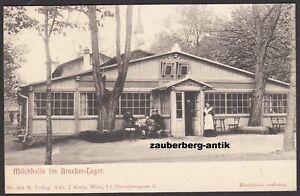 Bruck an der Leitha Brucker Lager mit Milchhalle K.u.k. Truppenlager