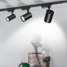 LED Track Lighting 12W COB Rail Spotlight Lamp Tracking Fixture Spot Light Bulb