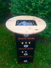 Bierkasten Tisch Stehtisch 70cm Durchmesser Tischaufsatz Bartisch mit Fl. Öffner